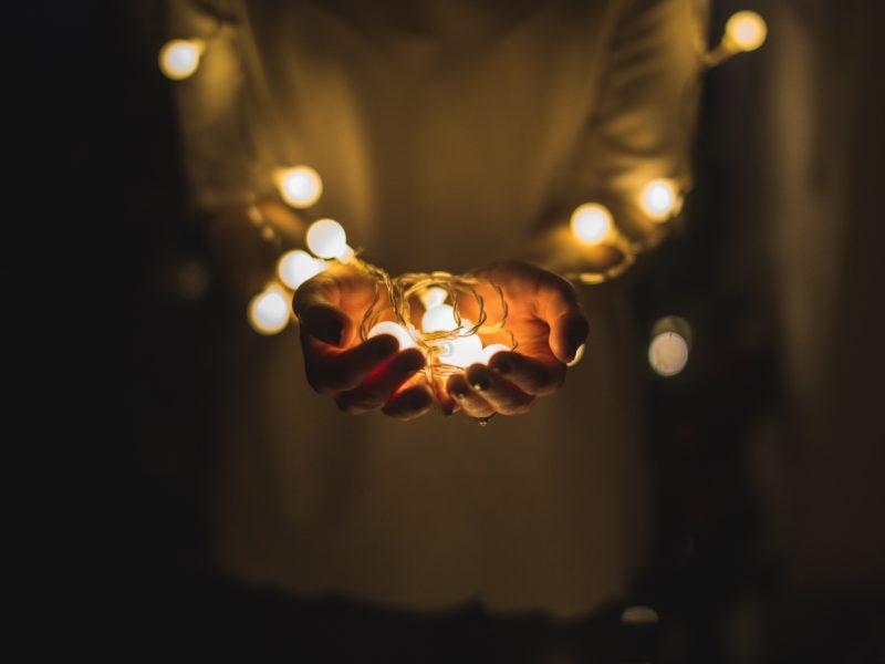 Ein kleines Licht in der Dunkelheit