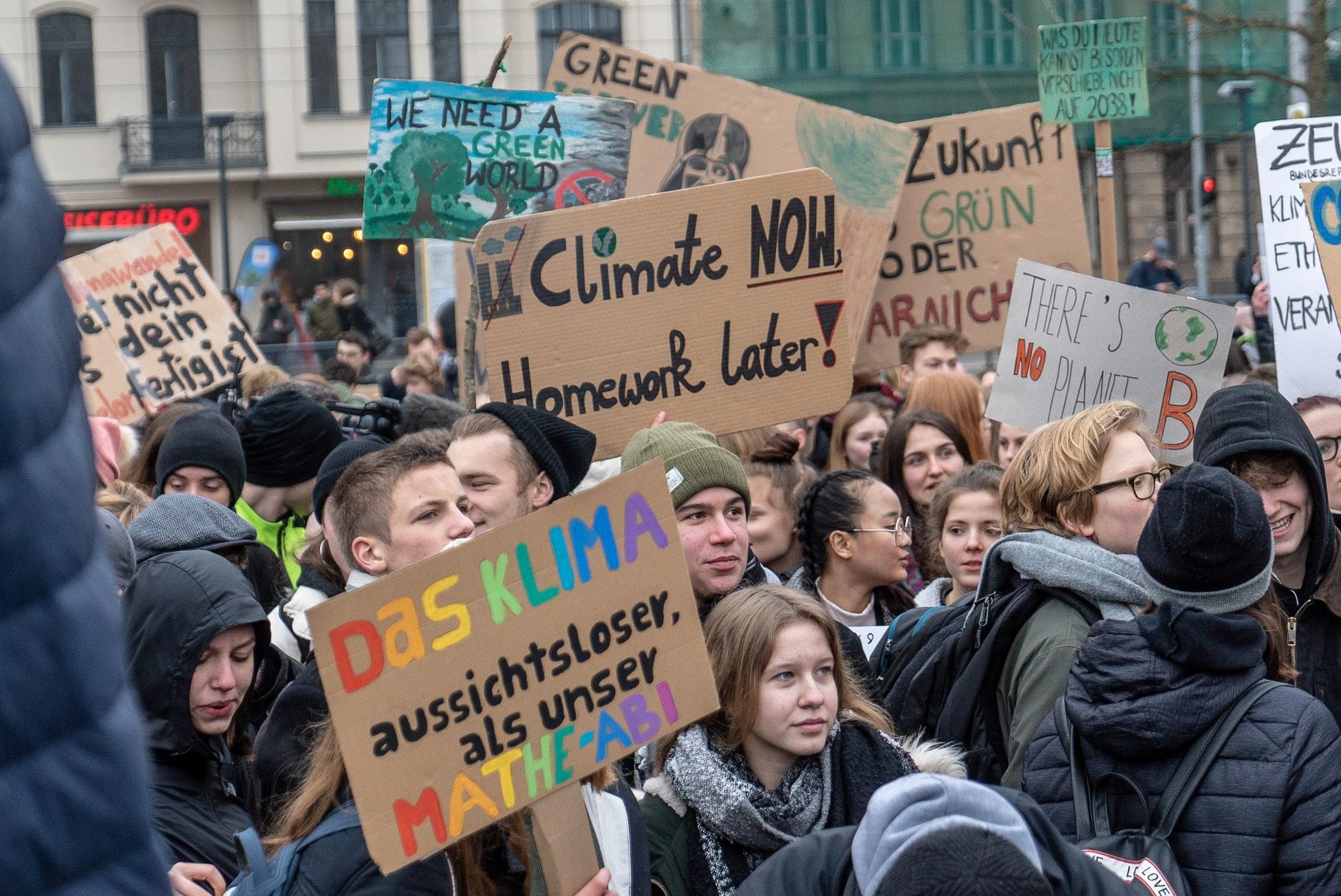 Stoppt die Diffamierung der Klimastreik-Bewegung!