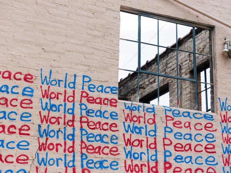 Zeit für eine neue Friedenspolitik